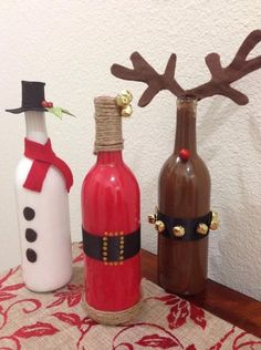 Decoration-Christmas-bottles-10