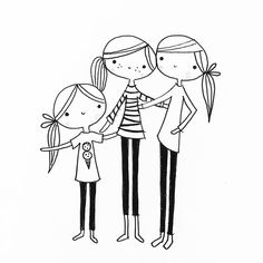 Art Drawings For Kids, Drawing For Kids, Easy Drawings, Sketch Notes, Sketch Painting, Stick Figures, Art Challenge, Cute Images, Card Sketches