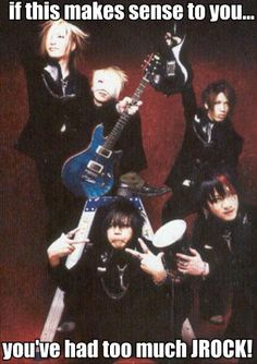 The GazettE. You can never have too much J-Rock.