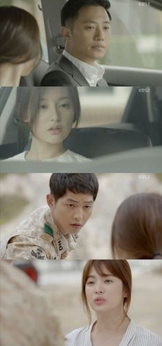 "[Spoiler] ""Descendants of the Sun"" Song Joong-ki, ""Jin Goo and Kim Ji-won-I have something going on"""