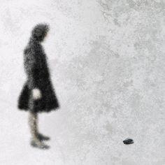 from the series Kohtauksia usvassa – Episodes in Mist Art Portfolio, Mists, Closer, Stone, Illustration, Blue, Rock, Stones, Illustrations