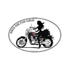 Lady Rider Decal Rose Motorcycle Sticker Lady Rider Car Decal - Car sticker decal for girlsgirl motorcycle promotionshop for promotional girl motorcycle on