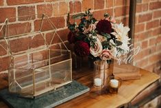 This Romantic Brewery Wedding had all the character you need! We loved adding candlelight with our Assorted Cylinders and making the Wishing Well area something special, but the stand out was definitely our Copper Pipe Arbor! Suppliers // Photography: Georgia Verrells Photography / Design, Styling, Decor: The Small Things Co / Floristry: Flos Botanical Studio / Venue: Mountain Goat Brewery Marble Board, Brewery Wedding, Framed Chalkboard, Guest Book Sign, Green Marble, Wishing Well, Event Styling, Small Things, Clear Acrylic