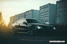 Gallery: Mercedes CLK63 Black Series on ADV1 Wheels - Motorward