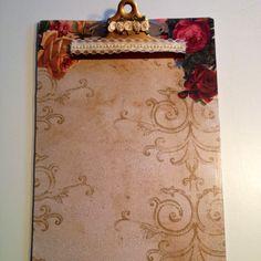 Embellished clipboard