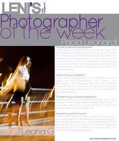 Leni's Model Management: Photographer of the week – Paola Leonardi