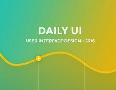 다음 @Behance 프로젝트 확인: \u201cDaily UI - Set 01\u201d https://www.behance.net/gallery/42019185/Daily-UI-Set-01