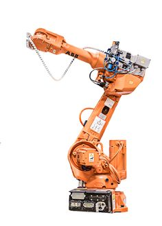 ba189393be97c80622a6b0600fa3e2f7 welding crane abb irb 4600 60 irc5 abb robots pinterest robot arm, robot  at reclaimingppi.co