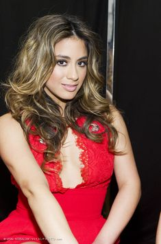 Ally Brooke (Fifth Harmony) – Photographed by VITAL AGIBALOW for RED FOR WOMEN – RED DRESS FALL WINTER 2015 COLLECTIONS MERCEDES-BENZ FASHION WEEK in New York | http://www.vitalagibalow.com
