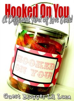 hooked on you mason jar gift ideas for your spouse from