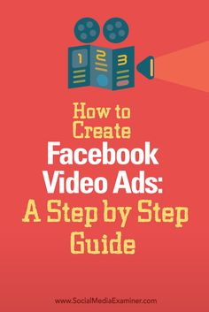 Interested in creating Facebook video ads?  Facebook video ads don't require a lot of time or money. All you need is a script and some basic gear.  In this article you'll discover how to design and record your own Facebook video ads. Via @smexaminer