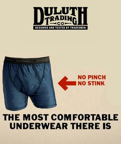 Have you heard about Duluth Trading Company buck naked boxers yet? They're available to 4X! Our man Fish just put them to the test. See the results: http://chubstr.com/2014/uncategorized/getting-comfortable-buck-naked-boxer-brief/