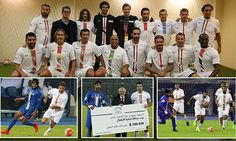 Christmas came early for football fans in Kuwait on Friday night as they were given a treat by legends such as David Beckham, Roberto Carlos and Luis Figo to name a few.