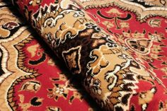 Dywan tradycyjny, dywan klasyczny w kolorze bordowym
