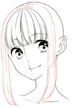 Learn To Draw Manga - Drawing On Demand Drawing Hair Tutorial, Manga Drawing Tutorials, Drawing Techniques, Art Tutorials, Anime Drawings Sketches, Cool Art Drawings, Anime Sketch, Poses References, Drawing Reference Poses