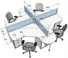 Resultado de imagen de oficinas con cubiculos