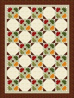 Sew a Quilt from an All-Time Favorite Design, Maple Leaf