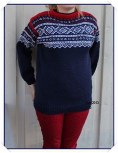 Hjerte GO`H Design: Marius-mønster Norwegian Knitting, H Design, Christmas Sweaters, Handmade, Fashion, Moda, Hand Made, Fashion Styles, Fashion Illustrations