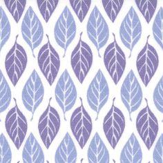 Terrain Leaves in Mist by Kate Spain for Moda Fabrics No 27097 25. $6.99, via Etsy.