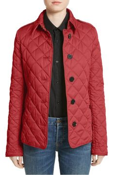 Main Image - Burberry Frankby Quilted Jacket