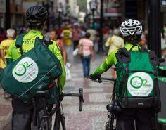 Ciclitas de JF criaram a O2 Courier para realização de serviços com bike, poupando tempo e o meio ambiente!