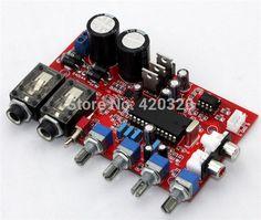 karaoke preamp board M65831AP + NE5532 preamp board with Karaoke fuction preamplifier board dual AC12V-0-12V preamp board #Affiliate
