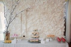 group project idea, paper flowers to create a backdrop, bulletin board border, so many ways to use them!