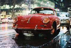 Porsche 356 in Melbourne, Australia. Photo by Mr. Analog (via btwl).