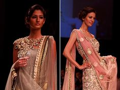Payal Singhal's http://www.payalsinghal.com/ Bridal Fantasy Collection at Lakmé Fashion Week Winter/Festive 2011
