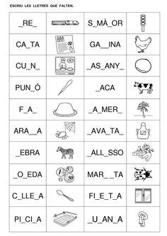 fitxes lectoescriptura cicle inicial - Cerca amb Google