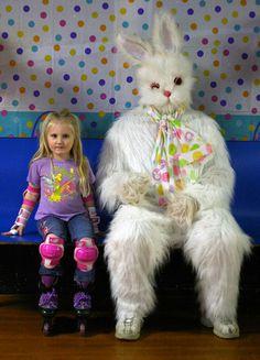 Girl & Bunny