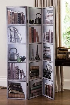 Library room divider from Ezibuy