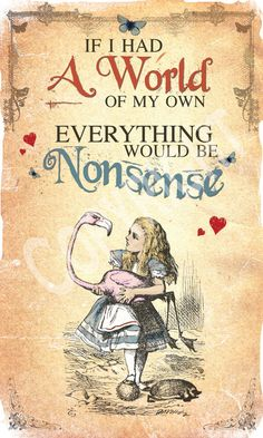 Gary Knight | Alice in Wonderland | Everything Would Be Nonsense