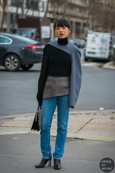 Miyuki Uesugi by STYLEDUMONDE Street Style Fashion Photography