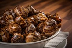 Snails with Aniseed gravy and Red Arjoli Paste (Bebbux bl-Arjoli)