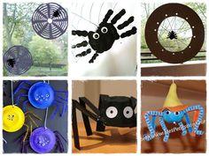 Bricolage Halloween araignee