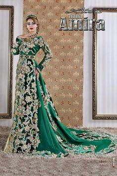 Hijab Style Dress, Hijab Wedding Dresses, Bridal Dresses, Formal Dresses, Muslim Women Fashion, Moroccan Dress, Caftan Dress, Traditional Dresses, Dress Patterns