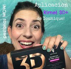Aplicacion Rimel 3D Plus de Younique!