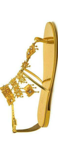 Giuseppe Zanotti 20th Anniversary Collection #GOLD <3