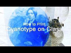 Cyanotype on glass Glass Photography, Vintage Photography, Photography Poses, Nature Photography, Glass Photo Prints, Print On Glass, Cyanotype Process, Sun Prints, Glass Printing