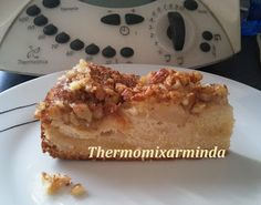 Recetas para tu Thermomix - desde Canarias: Pastel de manzanas con crujiente de nuez