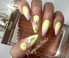 Lavender and Pastel Yellow Gradient