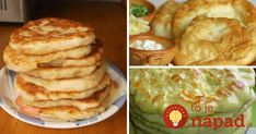 7 najlepších receptov na domáce langoše, z ktorých si vyberie určite každý! :-) Mashed Potatoes, Pancakes, Food And Drink, Pizza, Breakfast, Ethnic Recipes, Sweet, Whipped Potatoes, Morning Coffee