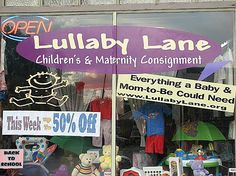 LULLABY LANE Kids and Maternity Consignment  1314 9 Ave SE  Calgary, AB Calgary, Back To School, Broadway Shows, Maternity, Gems, Gemstones, Emerald, Beginning Of School, Jewels