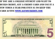Credit repair made easy creditrepair pinterest if you are a college student and want to build credit get a credit card ccuart Choice Image