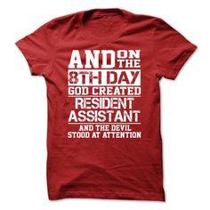 Resident Assistant-yiyozydowr T Shirt, Hoodie, Sweatshirt