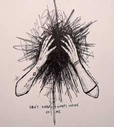 Pin on Dessin basket Sad Drawings, Dark Art Drawings, Pencil Art Drawings, Art Drawings Sketches, Dark Art Illustrations, Illustration Sketches, Vent Art, Arte Obscura, Arte Sketchbook