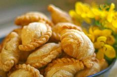 Thai Desserts - Thai curry puff