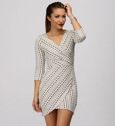 Sassy Cross Body Dress at WindsorStore