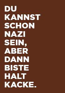 Die Gewinner der Sticker gegen Rechts 2013 Kampagne [2 Bilder]  http://lofter.de/11-12-2013/die-gewinner-der-sticker-gegen-rechts-2013-kampagne-2-bilder/